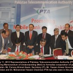 PTA Signs MoU with SBP For Promoting Mobile Banking in Pakistan
