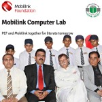 Mobilink Foundation  has partnered with the PEF to set up a computer lab facility