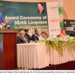 Prime Minister formally handed over 3G/4G licenses
