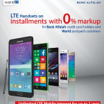 Warid Launches LTE Handset Offer with Bank Alfalah