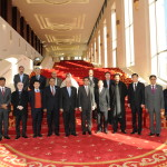 15 Members of National Assembly visited Huawei's Beijing office.