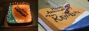 Lahore and Karachi Cake