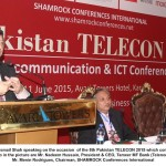 Pta supporte for suggested tax-cuts on Telecom & ICT sectors. Dr Shah