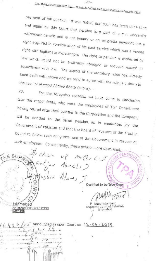 telecoalert-courtjudgment- 12jun2015 - pensionaer vs ptcl - last page 20