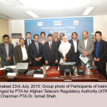 PTA ARRANGES TRAINING FOR AFGHAN TELECOM REGULATORY AUTHORITY