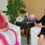 GM Microsoft NEPA, Ms Seila Serhan called on Ms. Anusha Rahman