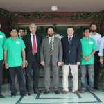 PTCL senior management visited the NUST to appreciate the achievement brilliant students