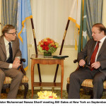 Mr. Bill Gates Calls On Prime Minister Nawaz Sharif