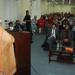 "Govt. are working on the special project of ""ICT for girls. Anusha"