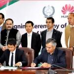 High tech: MOU signed between K-P, Huawei