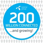 #More Than 200 million customers are now connected to Telenor