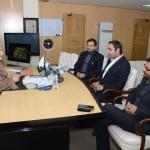Haier delegation calls on Anusha Rehman.