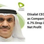 Etisalat Group's CEO, Ahmad Julfar has resigned