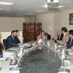 ITU Field Mission met Mrs Anusha Rehman