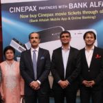Bank Alfalah collaborates with Cinepax and UnionPay