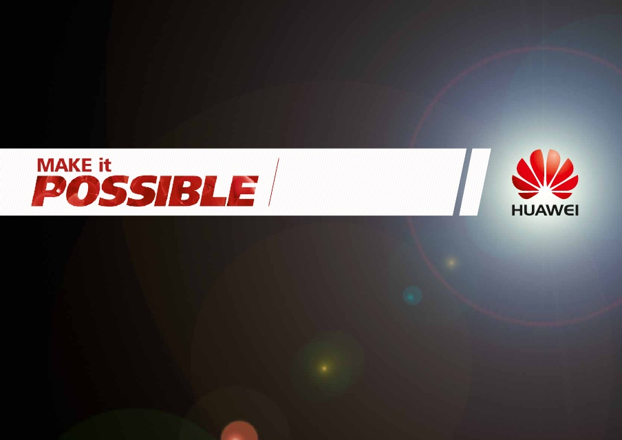 Huawei Makes It Possible Through Innovations