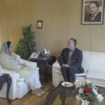 Mr. Jon Eddy, Of Vimpelcom calls on Anusha Rehman