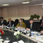 Mrs Anusha Rehman chaired USF co board meeting
