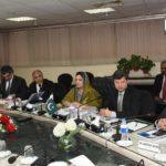Mrs Anusha Rehman chaired USF co board meeting
