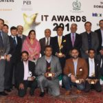 Top IT exporters ! Salim Ghauri Naseer Akhtar, and Haroon Kanth