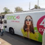 Zong Takes a Tour of Pakistan in Zong 4G Express Buses