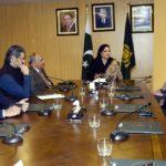 Ms. Gunn Waerted, Chairperson Telenor Board Calls on Anusha Rehman.