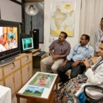 Telemedicine ! More than 45,000 patients have been examined and advisd .